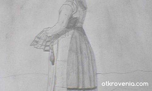 Шведско момиче (прерисувка)