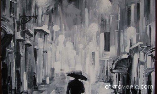 Дъжд в полунощ