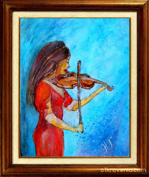 Жена с цигулка