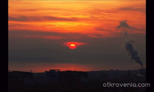 Събота-от покрива:)