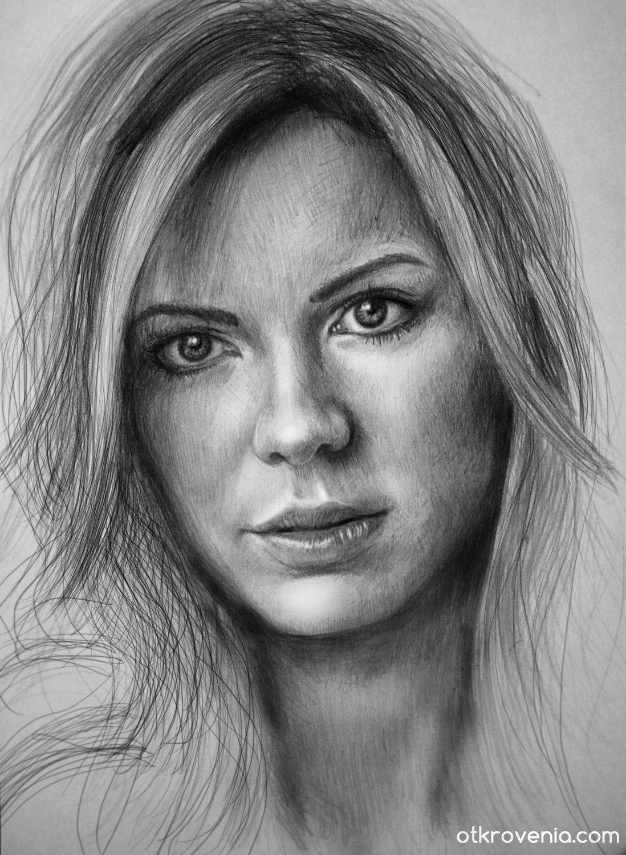 карандашные портреты картинки