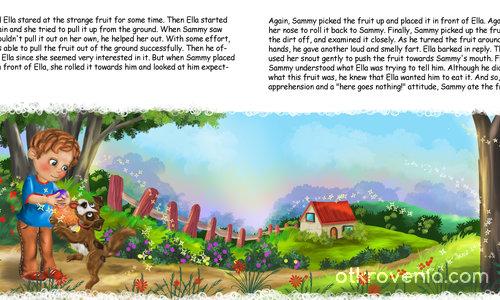 Илюстрация за детска книжка