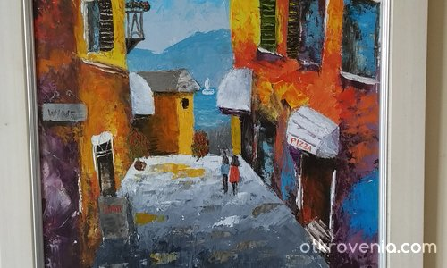 Уличка в Италия