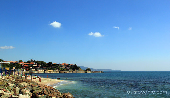 Плаж в Несебър