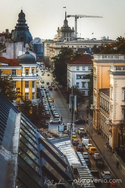 Центърът на динамичната столица