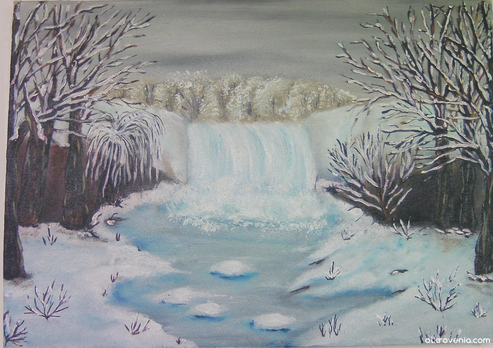 рисунок дыхание зимы чем секрет