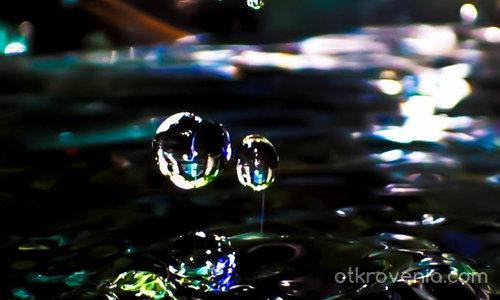 Танцът на водните капки