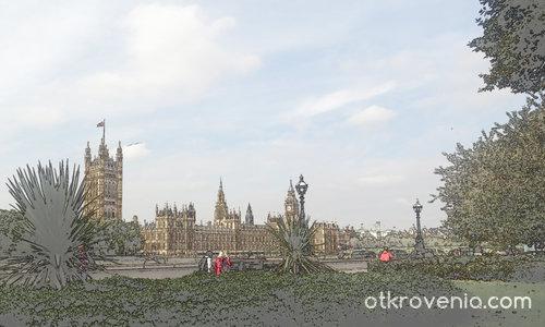 """'Картини от една"""" разходка - Лондонско небе"""