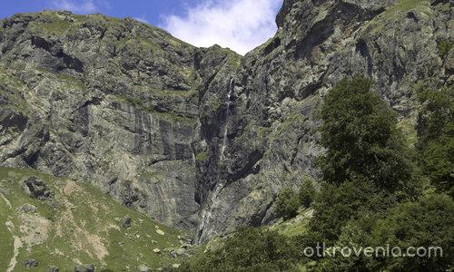 Райското пръскало-124 м височина на пада.