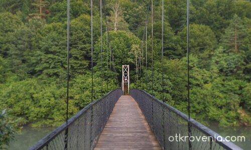Мостът над язовир Пасарел
