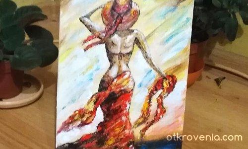 """""""Жената в червено"""""""