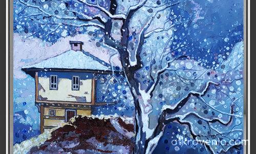 Зима на село 4