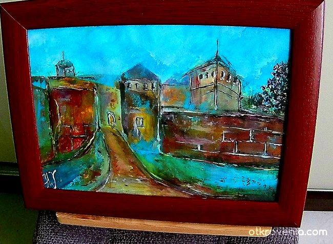 Крепостта Баба Вида - Абстракт Арт