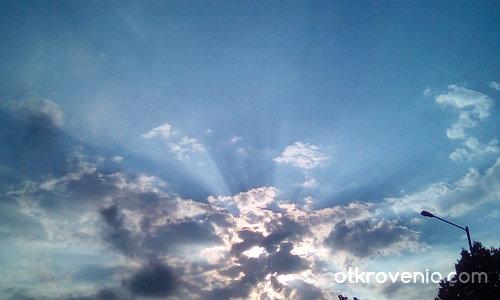 Странно небе