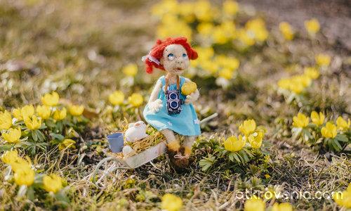 Луси и Великденската градина