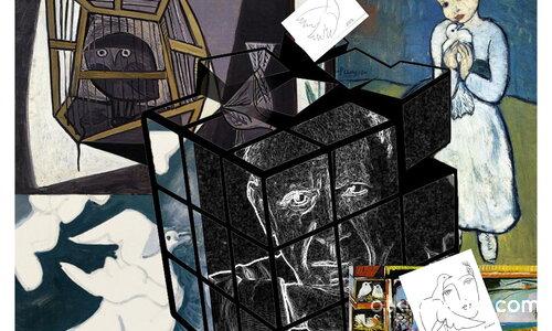 Гълъбите в творчеството на Пабло Пикасо