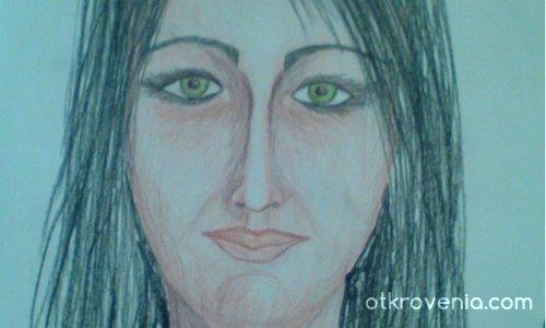 Опит за портрет с лява ръка