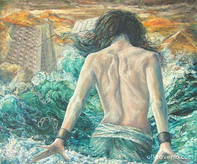 Вълните на морето са жени...