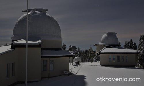 Зимен пейзаж в Родопа