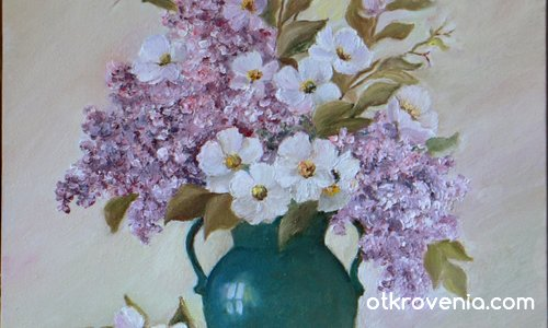 Натюрморт с цветя