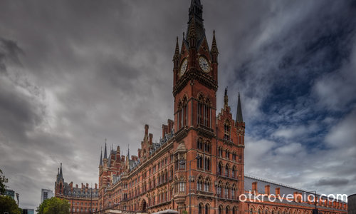 Kings Cross St. Pancras Station