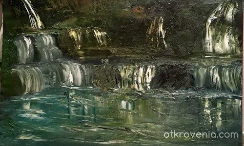 Нощен водопад
