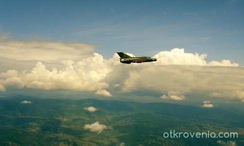 airshow and russian planes in Bulgarian airspace