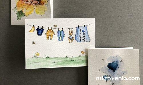 Картички за малки принцове и принцеси