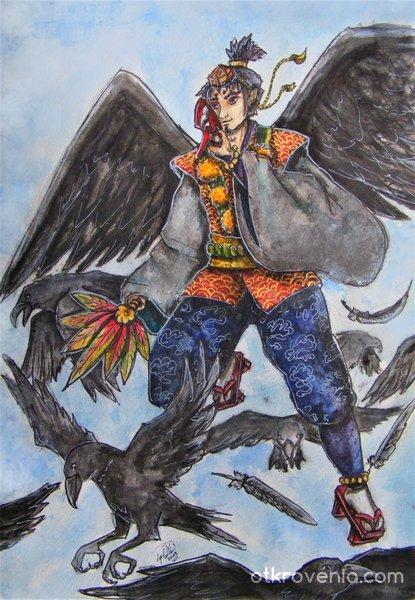 Демонът-гарван
