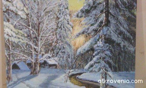 Зима в гората