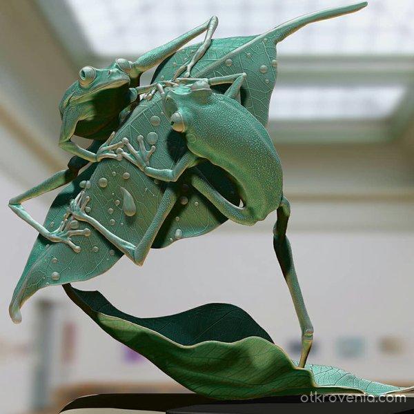 Treefrog- gallery edition