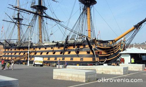 """""""Виктория"""" - корабът на адмирал Хорейшо Нелсън"""