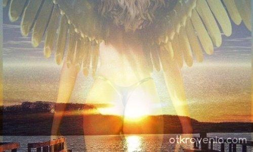 Angel on sunset :)