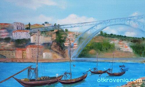 Пейзаж от Порто