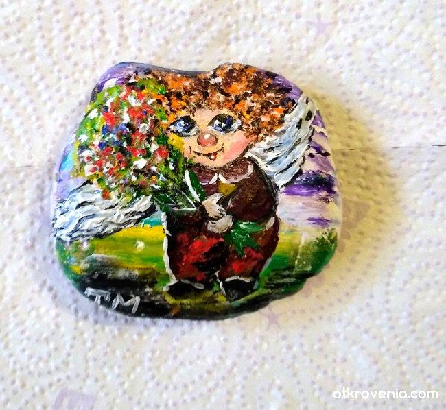 Рисувано камъче
