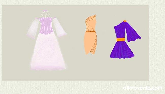 Модни скици 5