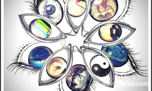 Копнежите в човешките очи
