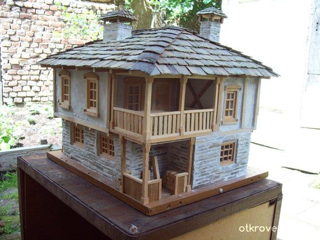 макет на къща