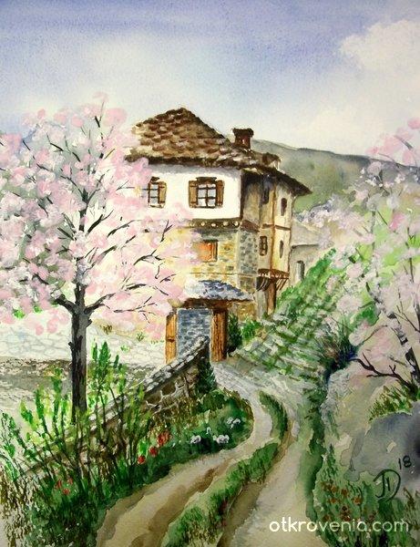Пролетен пейзаж