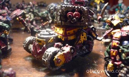 Warhammer 40k- Ork tactical turret