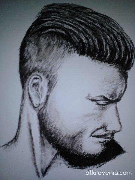 Глава на мъж
