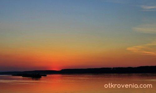 Привечер на Дунава...