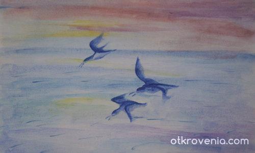 Заскрежени птици
