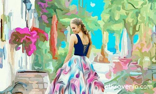 Рокля на цветни мечти