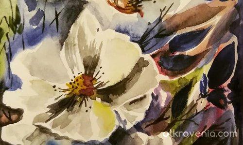Упражнение с цветя