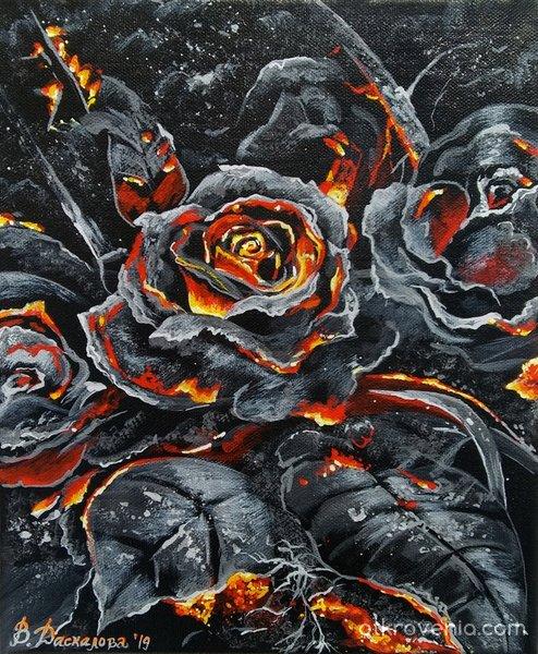 Пепел от рози