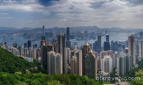 Hong Kong - поглед от Victoria Peak
