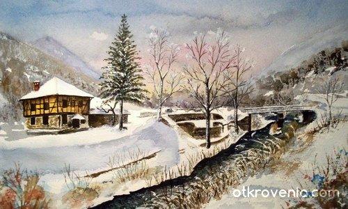 Зимен пейзаж-2