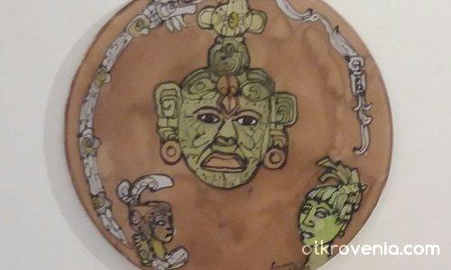 Триптих - Митология на маите