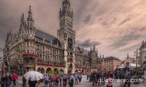 Една по различна архитектура - Marienplatz